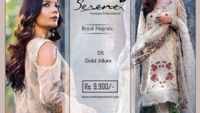 Royal Majestic Shalwar Kameez Collection By Serene 2017 8