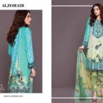 Al Zohaib Summer Embroidered Lawn Collection 2017 3