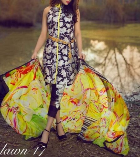 Asifa and Nabeel Summer Modern Formal Lawn Dresses 2017 7