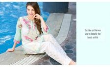 Belle Summer 2 PC Lawn Dresses By Charizma 2017 6