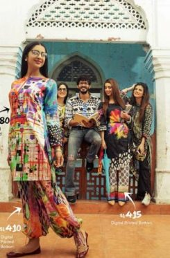 Casual Summer Colorful Collection Ideas By Gul Ahmed 2017 10