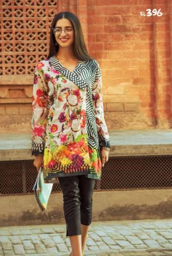 Casual Summer Colorful Collection Ideas By Gul Ahmed 2017 12