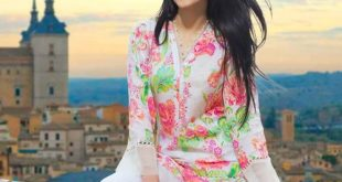 Embroidered Single Shirts Summer Collection by Gul Ahmed 2017
