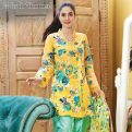 Embroidered Single Shirts Summer Collection by Gul Ahmed 2017 6