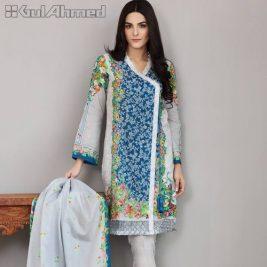 Gul Ahmed 3 Pcs Casual Summer Lawn Dresses 2017 2