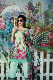 Jahanara Summer Formal Lawn Shalwar Kameez 2017 3