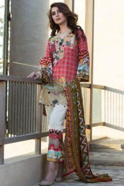 Luxury Marjaan Lawn Shalwar Kameez Vol-1 2017 9