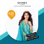 Adam Jee Casual Printed Lawn Shalwar Kameez Collection 2017 7