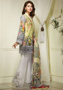 Anaya Eid Luxury Lawn Modern Dresses Collection 2017 11