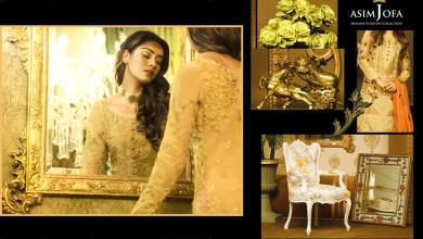 Asim Jofa Mysorie Chiffon Eid Dresses Luxury Collection 2017