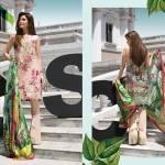 Crimson Eid Lawn Festive Season Dresses 2017 8