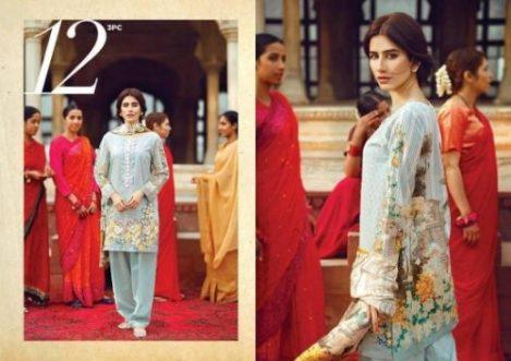 Cross Stitch Modern Eid Lawn Collection 2017