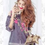 Eid Festive Lawn Shalwar Kameez Saadia Asad Collection 2017