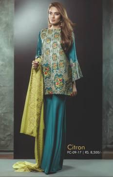 Eid Festive Wear Luxury Collection By AlKaram 2017 9