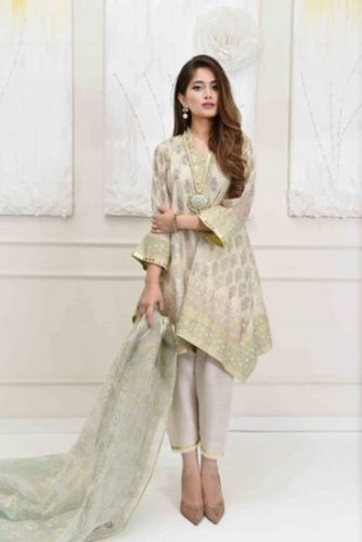 Farah Talib Aziz Eid Modern Collection For Woman 2017 5