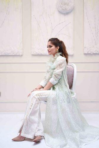 Farah Talib Aziz Eid Modern Collection For Woman 2017 8