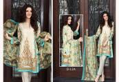 Floss Embroidered Luxury Lawn Shalwar Kameez Vol-2 2017 7