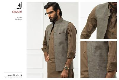 Ismail Farid Eid Kurta Shalwar Designs For Men 2017 5