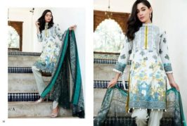Mahnoor Embroidered Eid Casual Lawn AlZohaib 2017 3