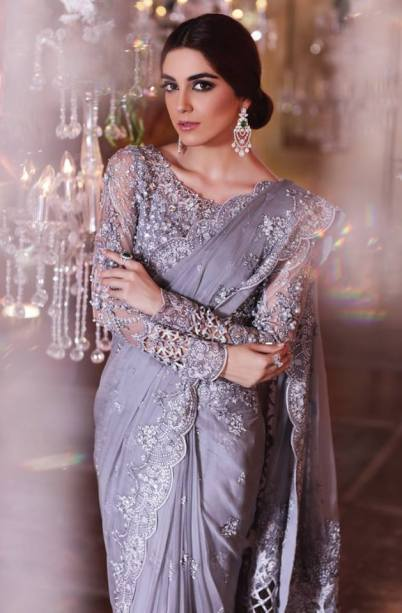 Maria B MBroidered Unstitched Eid Collection 2017 8