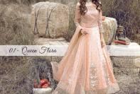 Serene Royal Chiffon Eid Dresses Summer Collection 2017