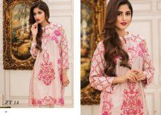 Veena Durrani Modern Summer Tunics Collection 2017 Vol-5 8