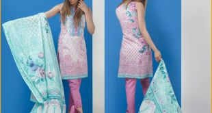 Firdous Embroidered Eid Lawn Collection 2017