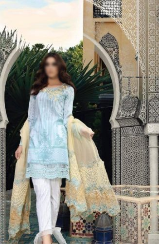 Maria B Eid Lawn Dresses Festive Season Collection 2017