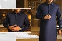 Wasim Akram Eid Shalwar Kameez By Almirah 2017