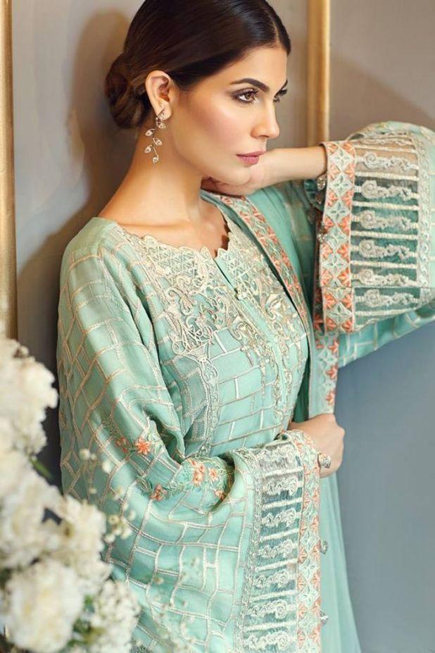 Anaya Chiffon Eid Collection Festive Season Dresses 2017