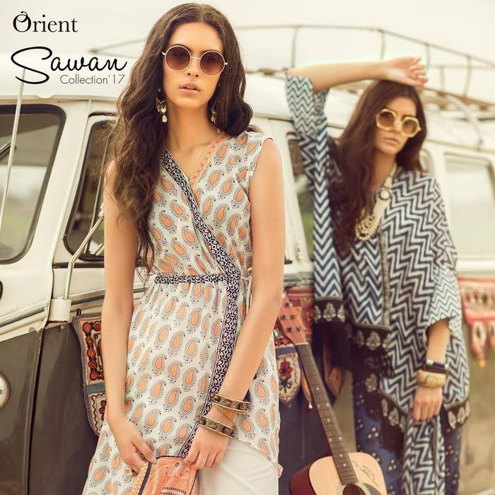 Orient Textiles Sawan Eid Collection 2017