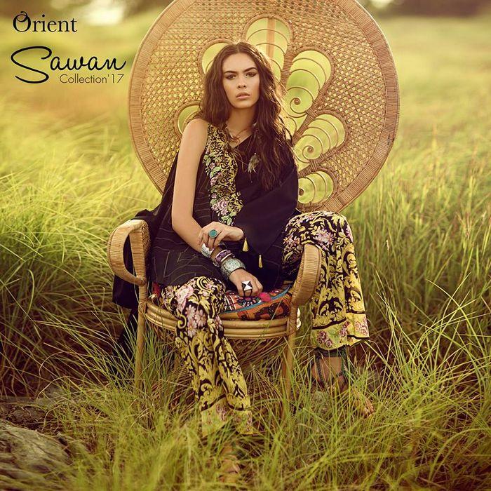 Orient Textiles Sawan Eid Collection 2017