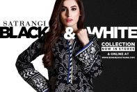 Black & White Bonanza Winter Dresses 2017-18