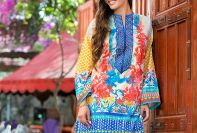 Gul Ahmed Early Fall Collection Embroidered Dresses 2017-18