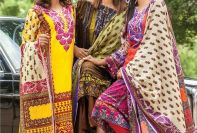 Lala Winter Linen Dresses Premium Collection 2017-18