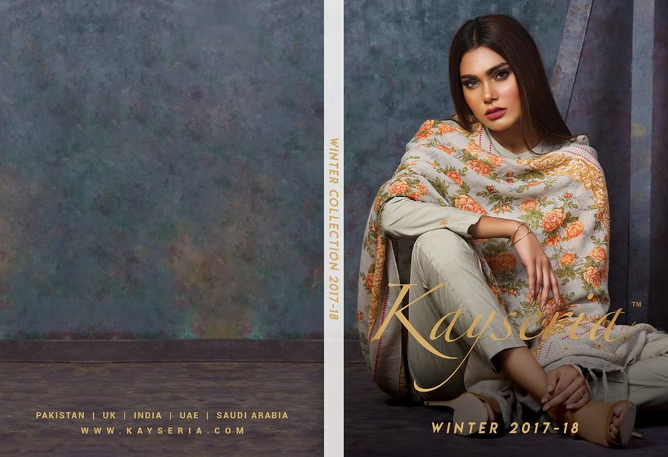 Kayseria Winter Collection Shalwar Kameez 2018