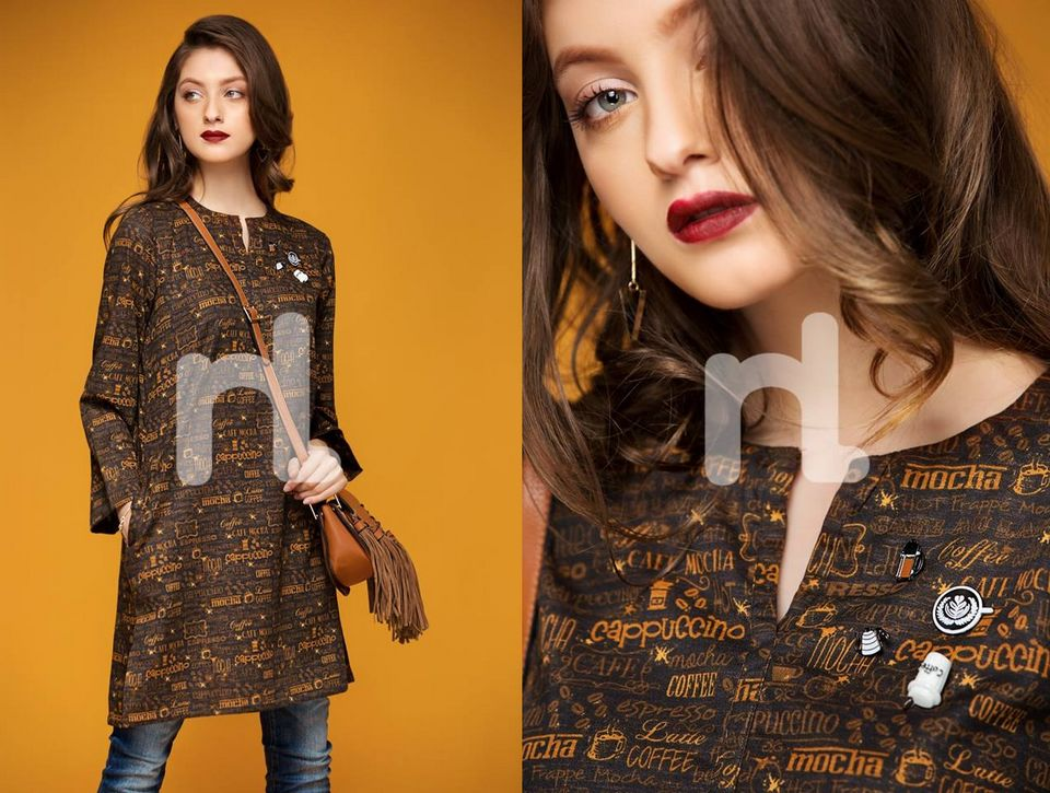 Nishat Linen Ready To Wear Winter Collection 2018