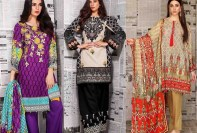 Warda Winter Collection Linen Dresses 2018