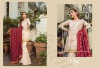 Maria B Winter Formal Dresses Linen Collection 2018