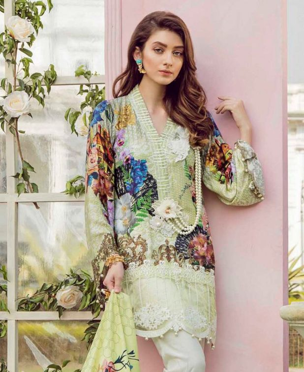Qalamkar Luxury Winter Dresses Glamorous Collection 2018