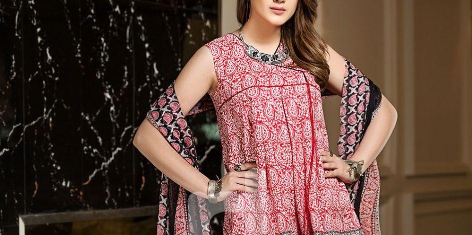 fc7b74cf778 Nishat Linen Summer 3 Piece Lawn Dresses 2018 - Fashionvilas.com