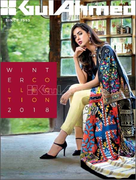 Gul Ahmed Winter Collection Complete Catalog