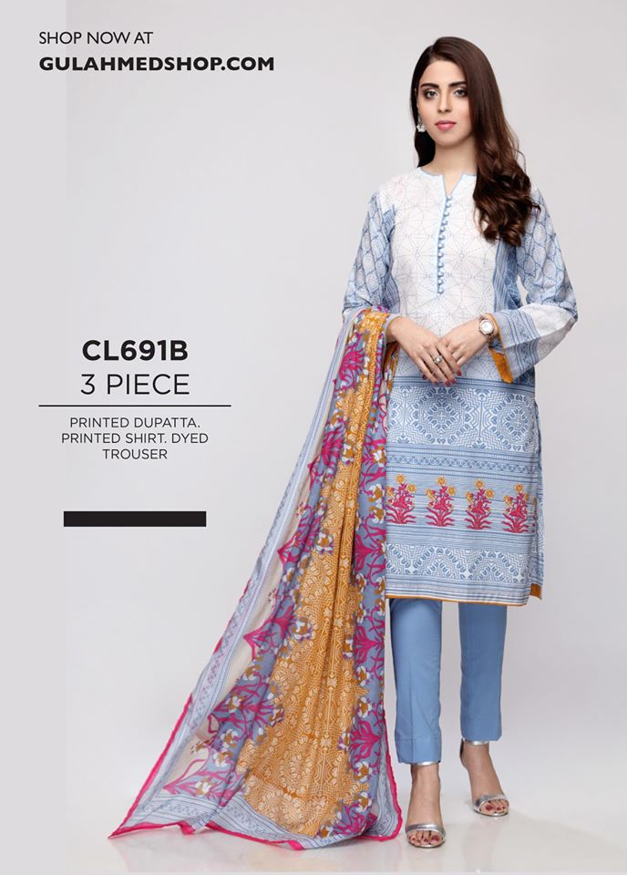 Gul Ahmed Summer Luxury Wear Collection 2020