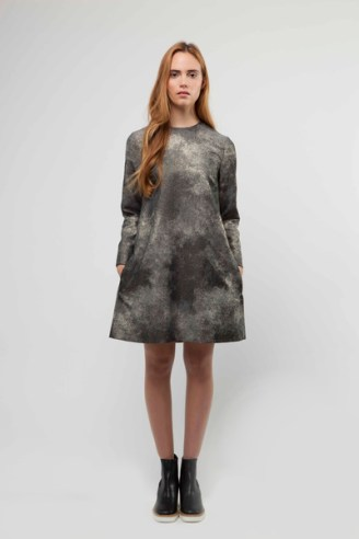 Metallic Cosmos Shift Dress £425