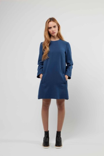 Julia Wool Shift Dress £399