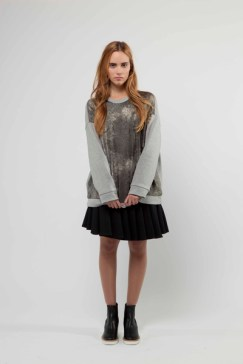 """Metalic Cosmos"" Organic Jersey Sweatshirt £280"