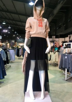 Topshop sports Luxe fashion