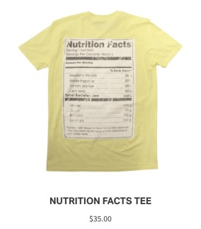Lemonade Anniversary Merch Recipe Tee