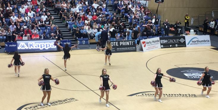 Newcastle Eagles vs Glasgow Rocks 071017 4
