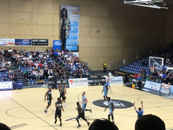 Newcastle Eagles vs Glasgow Rocks 071017 2